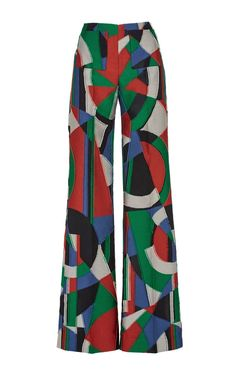 Moscow Jacquard That 70'S Pant by Isa Arfen for Preorder on Moda Operandi