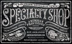 American Provisions Specialty Shop