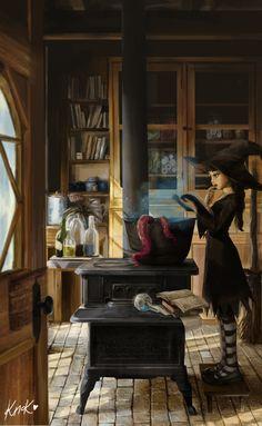 ArtStation - The Apprentice, Vy Dang
