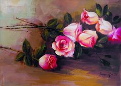 Find More Painting & Calligraphy Information about Cheap Chinese Rose Flower…