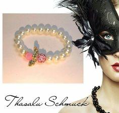 Engelarmband - Trauzeuginen Armband - Glücksarmband - Taufarmband Schutzengelarmband zu finden auf Facebook Thasalu Schmuck   https://m.facebook.com/Thasalu-Schmuck-Chunks-Co-295839107195113/