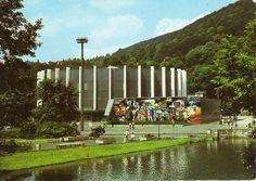 europavintage:  Stadthalle Suhl zu DDR-Zeit by ehrleinuwe on Flickr.
