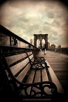 don't call me betty ((via Brooklyn Bridge Promenade by Jessica Jenney /...)