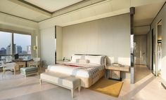 Junior Suite with spacious living area in daylight - Keraton at The Plaza, a Luxury Collection Hotel, Jakarta