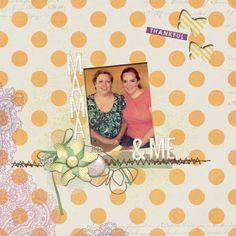 stamp + ribbons + cutouts + stitching