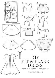Merrick's Art // Style + Sewing for the Everyday GirlDIY FRIDAY: EMBROIDERED MOTHER'S DAY DRESS TUTORIAL | Merrick's Art