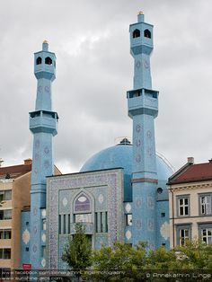 :::: ✿⊱╮☼ ☾ PINTEREST.COM christiancross ☀❤•♥•* :::: Oslo Central Mosque, Oslo, Sweden