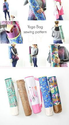 10 Free Yoga Mat Bag Tutorials Free Sewing Patterns