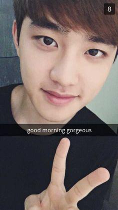 Kyungsoo as your boyfriend~More Fake Exo Snaps