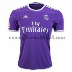 La Liga Fussball Trikots Real Madrid 2016-17 Auswärtstrikot Kurzarm
