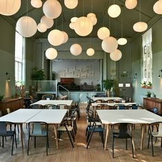 Renowned chef Massimo Bottura has opened an Ilse Crawford-designed community kitchen in Kensington.