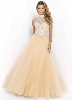 staggering 2015 Champagne Illusion Halter High Neck Corset Beaded Ball Gown [Blush 5401] - $169.00 : Unique Fashion Prom Gown Outlet for 2015 Prom Dresses! by qq353478473 in Retroterest. Read more: http://retroterest.com/pin/2015-champagne-illusion-halter-high-neck-corset-beaded-ball-gown-blush-5401-169-00-unique-fashion-prom-gown-outlet-for-2015-prom-dresses/