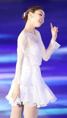 Yuna Kim. Skate dress