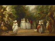 """YouTube video about """"The Mall in St. James's Park"""" by Thomas Gainsborough. © The Frick Collection #ThomasGainsborough #TheMall #StJamesPark #London #frickcollection"""