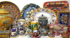Bonechi Imports Italian Ceramics from Deruta + Gubbio, Umbria, Montelupo Fiorentino + Chianti, Tuscany, Caltagirone + Santo Stefano di Camastra, Sicily, and Grottaglie, Puglia