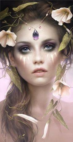 Morgan Valencia Wood Elf Makeup