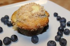 The Cookbook Project: Blueberry Streusel Muffins