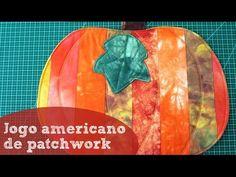 Aula de Patchwork - Jogo Americano de Abóbora | Revista Artesanato