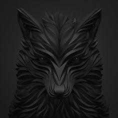 Brilliant Digital Art Wolf and Hoof by Maxim Shkret » Design You Trust. Design, Culture & Society.
