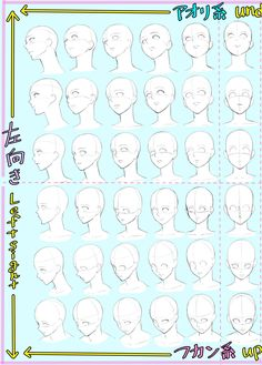 Learn To Draw Faces - Drawing On Demand Body Reference Drawing, Drawing Reference Poses, Drawing Skills, Drawing Lessons, Manga Drawing Tutorials, Art Tutorials, Drawing Base, Figure Drawing, Drawing Heads