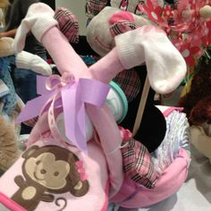 "Monkey diaper motorcycle-girl. Available at ""My Gifts by Jane"" website or Facebook page"