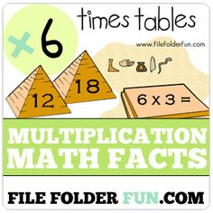 Multiplication File Folder Games…Lots to choose from and all FREE!