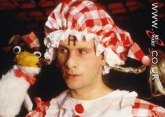 """""""So let me get this straight. You want to fly on a magic carpet to see the king of the potato people and plead with him for your freedom… and you're telling me that you're completely sane?"""" — Arnold Rimmer (Chris Barrie) from Quarantine, Red Dwarf Welsh, Potato People, Red Dwarf, Bbc Tv, Science Fiction Books, Sci Fi Books, Magic Carpet, Classic Tv, Favorite Tv Shows"""
