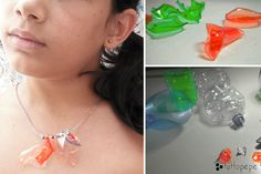 PLASTIC COLORFUL NECKLACE