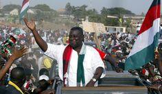 President of Ghana Dies at 68
