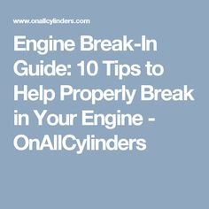 Blueprint engines gm 383 cid 430hp stroker base crate engines w engine break in guide 10 tips to help properly break in your engine malvernweather Image collections