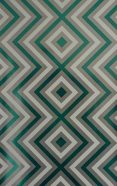 輸入壁紙 Flavor Paper(フレーバーペーパー) ZIGGY DIAMOND / Wintergreen On Silver 紙系