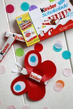 Mitbringsel Geburtstag Idee Ferrero kinder Schokolade