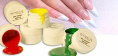 Be Creative Nail Art Gel Paints from Sam Biddle