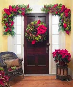Wonderful Outside Christmas Decorating Ideas | Christmas Ideas: Christmas Wreath  Decoration Ideas, Outdoor Christmas U2026