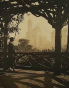 Czech pictorialism - Drahomir Josef Ruzicka, Central park N. Y