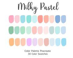 Pastel Colour Palette, Color Schemes Colour Palettes, Colour Pallette, Pastel Colors, Rustic Color Palettes, Color Combos, Aesthetic Colors, Color Swatches, Color Inspiration