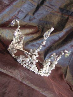 Handmade Tiara Snow Queen