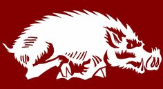 Old Razorback Logo | old-razorback-logo : Hog Database