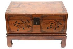 Hand-Painted Chinese Wedding Chest