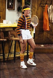 Mork was an alien (or a very young Robin Williams).