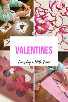 Tot School / Weeks 49 & 50: Valentines – Everyday a Little Grace Tot School, Valentines, Valantine Day, Valentine's Day, Valentines Day, Valentine Cards