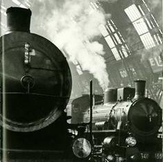 Vintage 30's Italian Train Fine Art Print