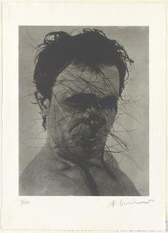 MoMA   The Collection   Arnulf Rainer. (Austrian, born 1929)
