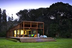 Crosson, Clarke and Carnachan have designed yet another striking sustainable home for the Great Barrier Island in New Zealand.