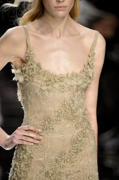 Elie Saab at Couture Spring 2010 - Details Runway Photos