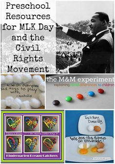 Preschool Resources about Dr. Martin Luther King and Civil Rights