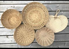 Wall Ideas, Wicker Baskets, Decorative Plates, Home Decor, Interior Design, Home Interior Design, Home Decoration, Decoration Home, Interior Decorating