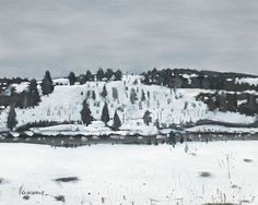 Stanley Cosgrove, Winter Landscape on ArtStack Winter Landscape, Watercolor, Artist, Artwork, Painting, Outdoor, Pen And Wash, Outdoors, Watercolor Painting