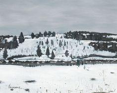 Stanley Cosgrove, Winter Landscape on ArtStack Winter Landscape, Watercolor, Artwork, Artist, Painting, Outdoor, Outdoors, Watercolor Painting, Work Of Art