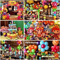 Balloons and decors